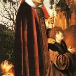 Św. Walenty, obraz Lucasa Cranacha Starszego. fot. pl.wikipedia